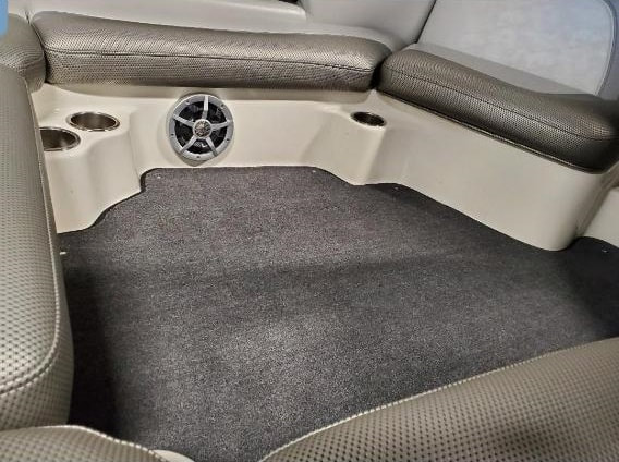 05 Centurion Avalanche - new upholstery and carpet, main cabin, by James Boat and Fiberglass Repair, Dixon, CA