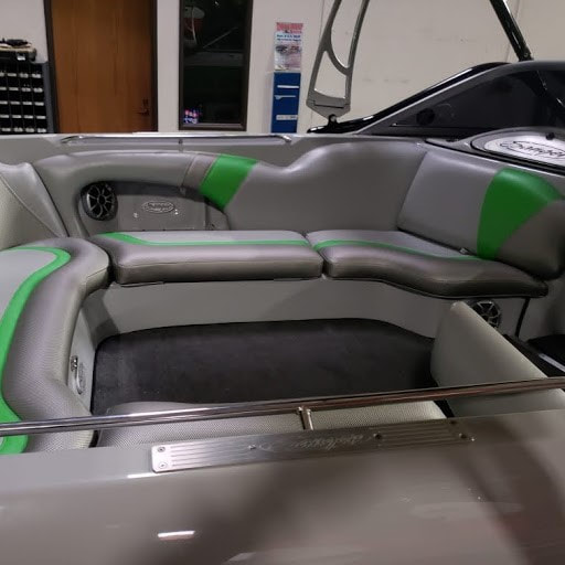 2011 Sanger rear seating from the other side by James Boat Repair