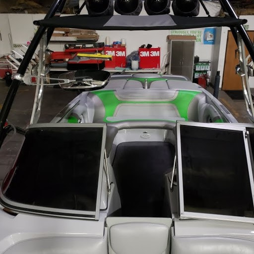 2011 Sanger with new interior by James Boat Repair