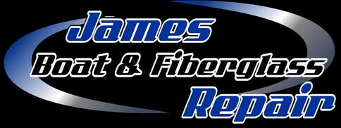James Boat and Fiberglass Repair Logo (dark), Dixon, CA