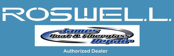 James Boat and Fiberglass Repair is an authorized dealer for Roswell Marine boat parts and accessories